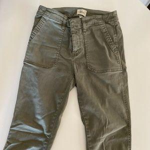 Green J. Crew pants